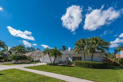 Palm Beach Gardens Single Family Home For Sale: 12845 Calais Circle