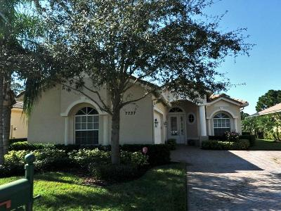 Port Saint Lucie Single Family Home Contingent: 7737 Greenbrier Circle