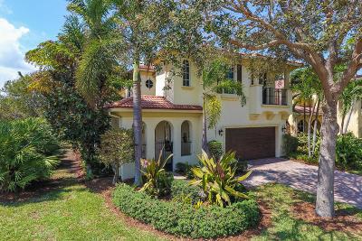 Palm Beach Gardens Single Family Home For Sale: 1021 Vintner Boulevard