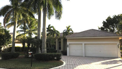 Coral Springs Single Family Home Contingent: 4831 NW 112th Drive