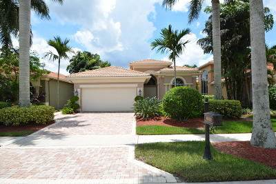 Delray Beach Single Family Home For Sale: 8084 Valhalla Drive