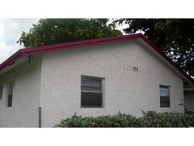 Pompano Beach Single Family Home For Sale: 713 NW 4th Avenue