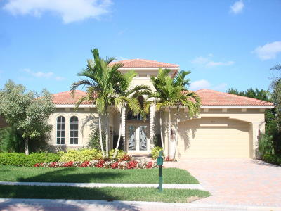 West Palm Beach Single Family Home For Sale: 7231 Tradition Cove Lane W