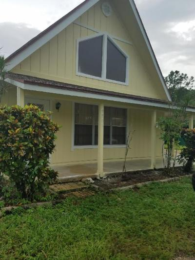 Jupiter Single Family Home Contingent: 9706 Sandy Run Road