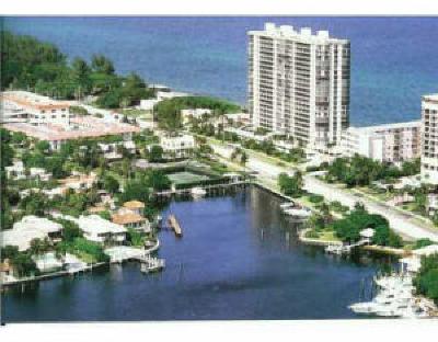 Boca Raton Condo Sold: 250 S Ocean Boulevard #Lph-B
