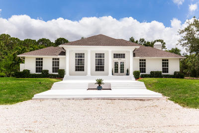 West Palm Beach Single Family Home Contingent: 12230 Orange Boulevard