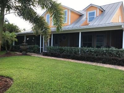 Port Saint Lucie Single Family Home For Sale: 802 SE Portage Avenue
