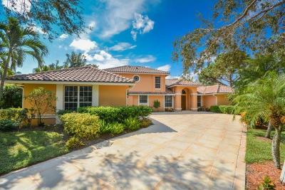 Jupiter Single Family Home For Sale: 174 River Drive E