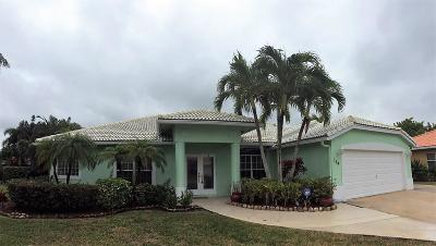Royal Palm Beach Single Family Home For Sale: 164 Fernwood Crescent