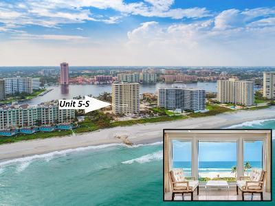 Boca Raton Condo Sold: 750 S Ocean Boulevard #5-S