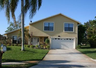 Wellington Single Family Home For Sale: 1409 Old Cypress Trail