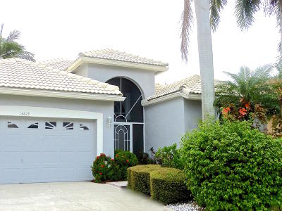 Delray Beach Single Family Home For Sale: 13615 Weyburne Drive