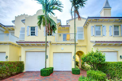 Delray Beach Townhouse Sold: 790 Andrews Avenue #D-103