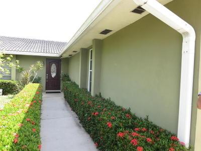 Palm Beach Gardens Single Family Home For Sale: 9926 Dogwood Avenue