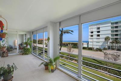Juno Beach Condo For Sale: 911 Ocean Drive #203