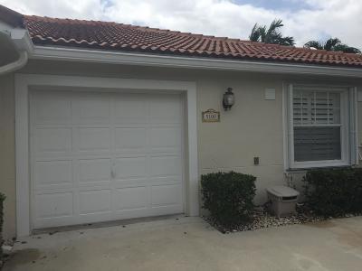 Delray Beach Single Family Home For Sale: 5100 La Sedona Circle