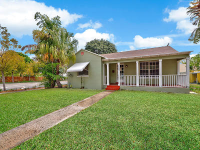 West Palm Beach Single Family Home For Sale: 1600 Florida Avenue