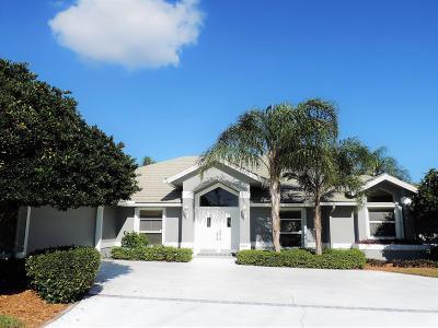 Hobe Sound Single Family Home Contingent: 8825 SE Marina Bay Drive