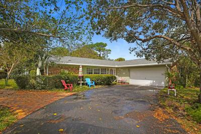 Jupiter Single Family Home For Sale: 5115 Laird Lane