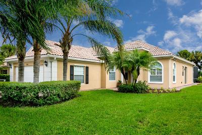 Port Saint Lucie Single Family Home For Sale: 11355 SW Rockingham Drive