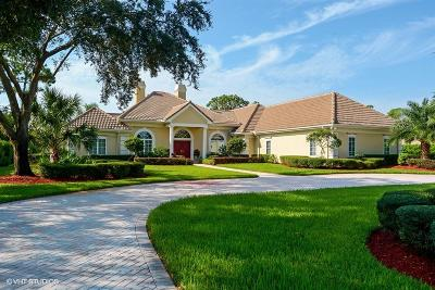 Port Saint Lucie Single Family Home For Sale: 7837 Long Cove Way