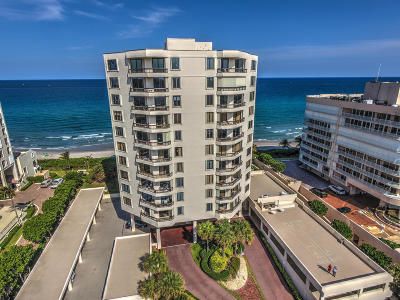 Highland Beach Condo Sold: 3201 S Ocean Boulevard #803