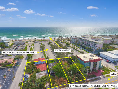 Broward County, Palm Beach County Residential Lots & Land For Sale: 116-148 S Ocean Drive