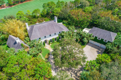 Jupiter Single Family Home For Sale: 158 Bear's Club Drive