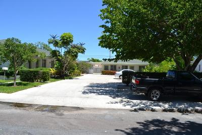 Lake Worth Multi Family Home For Sale: 1210 S M Street