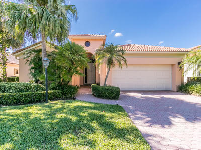Jupiter Single Family Home For Sale: 3466 Lantern Bay Drive