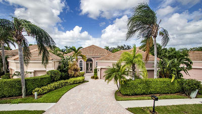 West Palm Beach Single Family Home For Sale: 8635 Falcon Green Drive