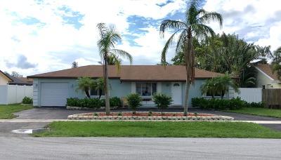 Boca Raton Single Family Home For Sale: 19601 Carolina Circle