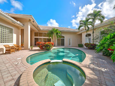 Palm Beach Gardens Single Family Home For Sale: 1030 Grand Isle Drive