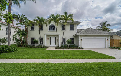Boca Raton Single Family Home For Sale: 1555 SW 4th Circle