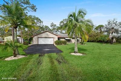 Jupiter Single Family Home Contingent: 16867 130th Way