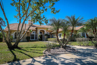 Palm Beach Gardens Single Family Home Contingent: 8852 154th Court