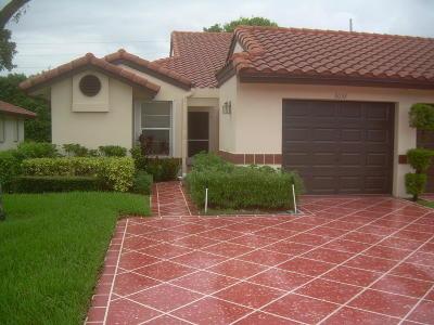 Delray Beach Single Family Home Contingent: 6052 Waldwick Circle