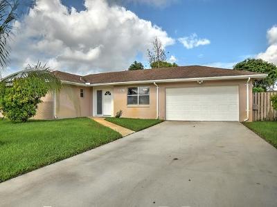 Wellington Single Family Home For Sale: 1176 Sachem Head Terrace