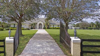Wellington Single Family Home For Sale: 14628 Draft Horse Lane