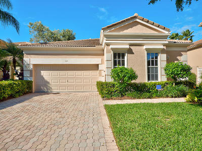 Palm Beach Gardens Single Family Home For Sale: 124 Sunset Cove Lane
