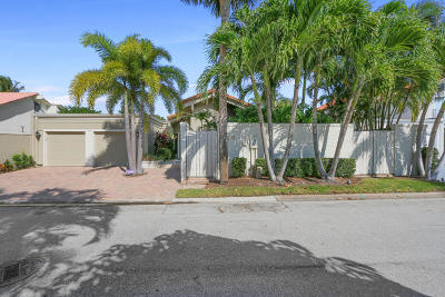 Jupiter Single Family Home For Sale: 116 Bonefish Circle