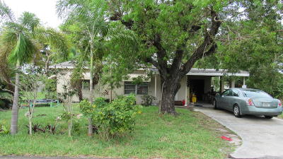 Lake Worth Single Family Home For Sale: 5945 Morrison Avenue