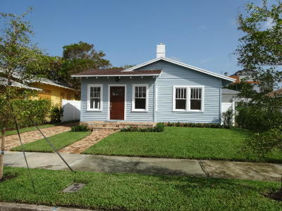 West Palm Beach Single Family Home For Sale: 619 O Street