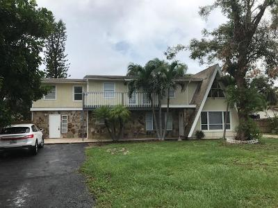 West Palm Beach Multi Family Home For Sale: 775 Chase Road