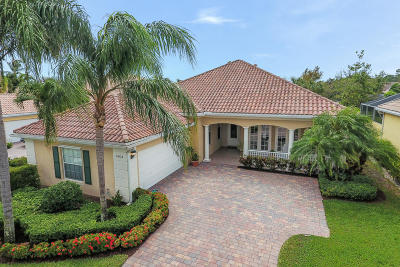 Palm Beach Gardens Single Family Home For Sale: 4804 Eugenia Drive