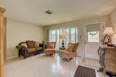 Lake Worth Single Family Home Contingent: 610 Snowden Drive