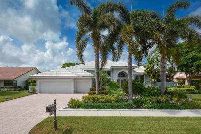 Boca Raton Single Family Home For Sale: 4920 Bocaire Boulevard