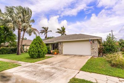 Lantana Single Family Home For Sale: 1097 Palama Way