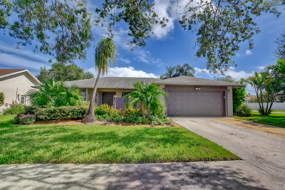 Boca Raton Single Family Home For Sale: 4055 Bay Laurel Way