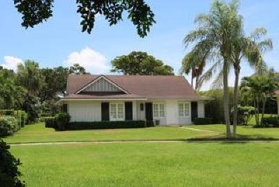 North Palm Beach Single Family Home For Sale: 11580 Lost Tree Way